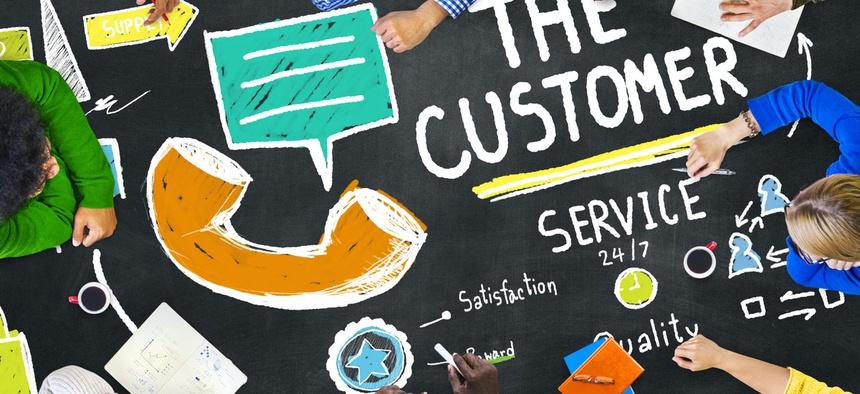customer service standards photo